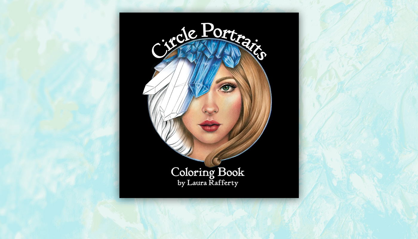 Circle Portraits Coloring Book Info