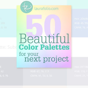 50 Free Beautiful Color Palettes for Your Next Big Project