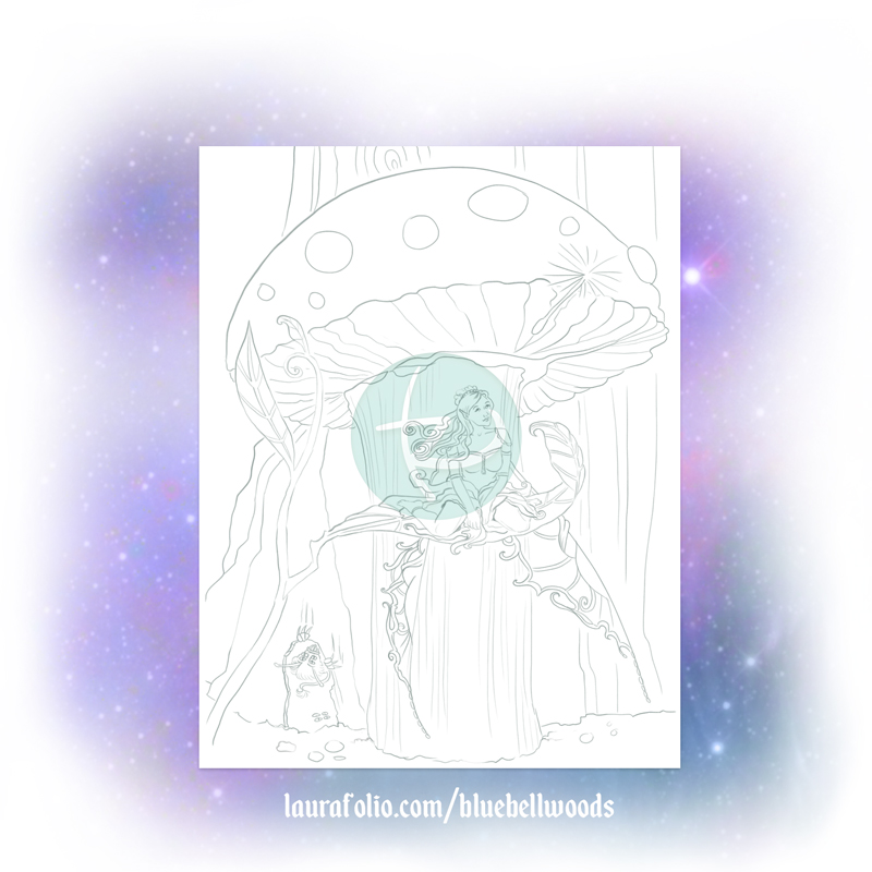 Wishes Can Start Small Coloring Page