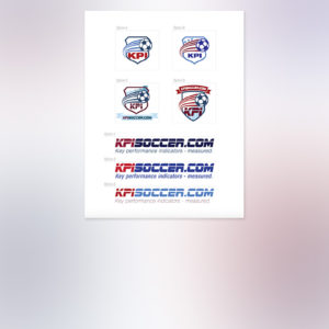 Soccer Website Logo & Identity Sketches