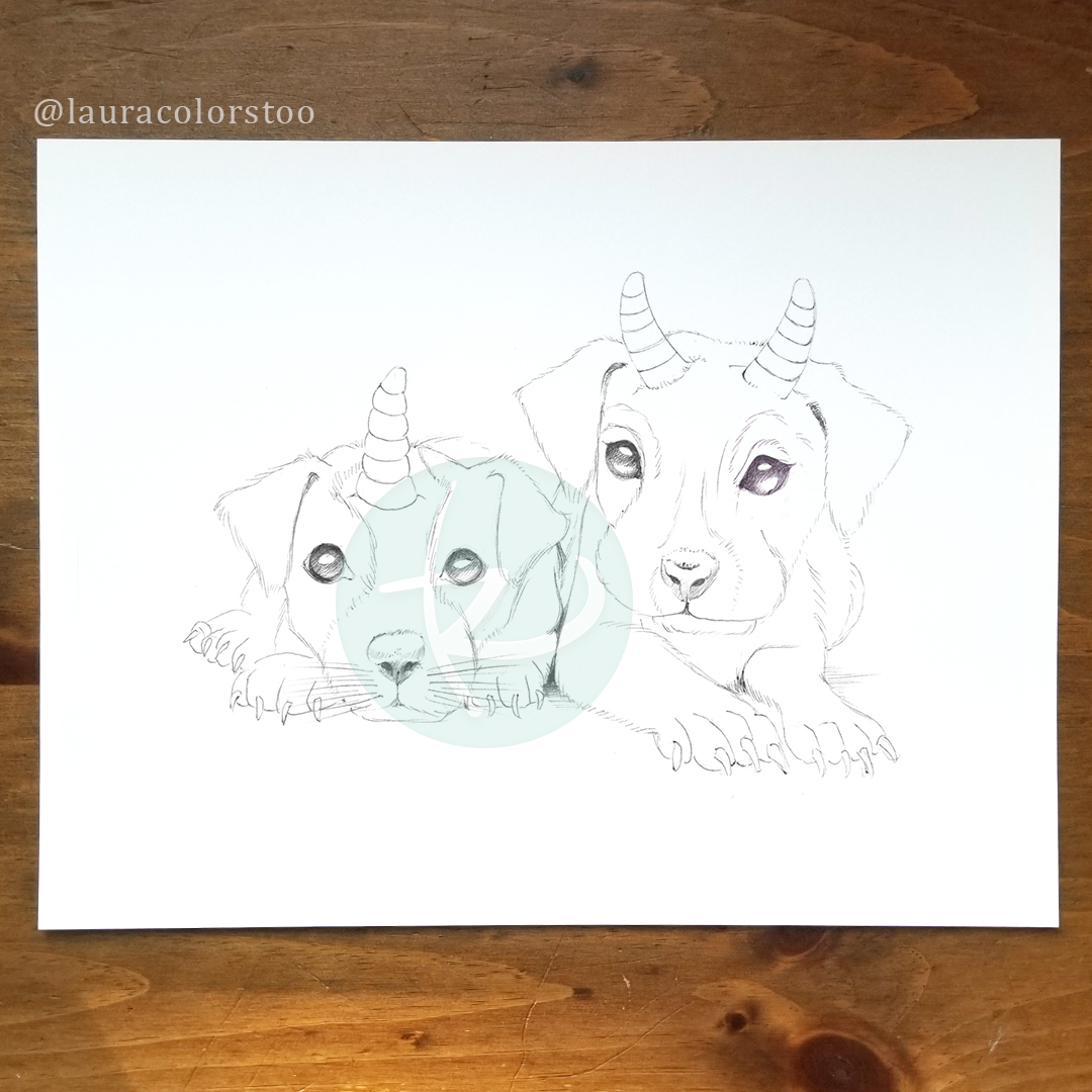 Bluebell Woods Coloring Book - Cornidoggies