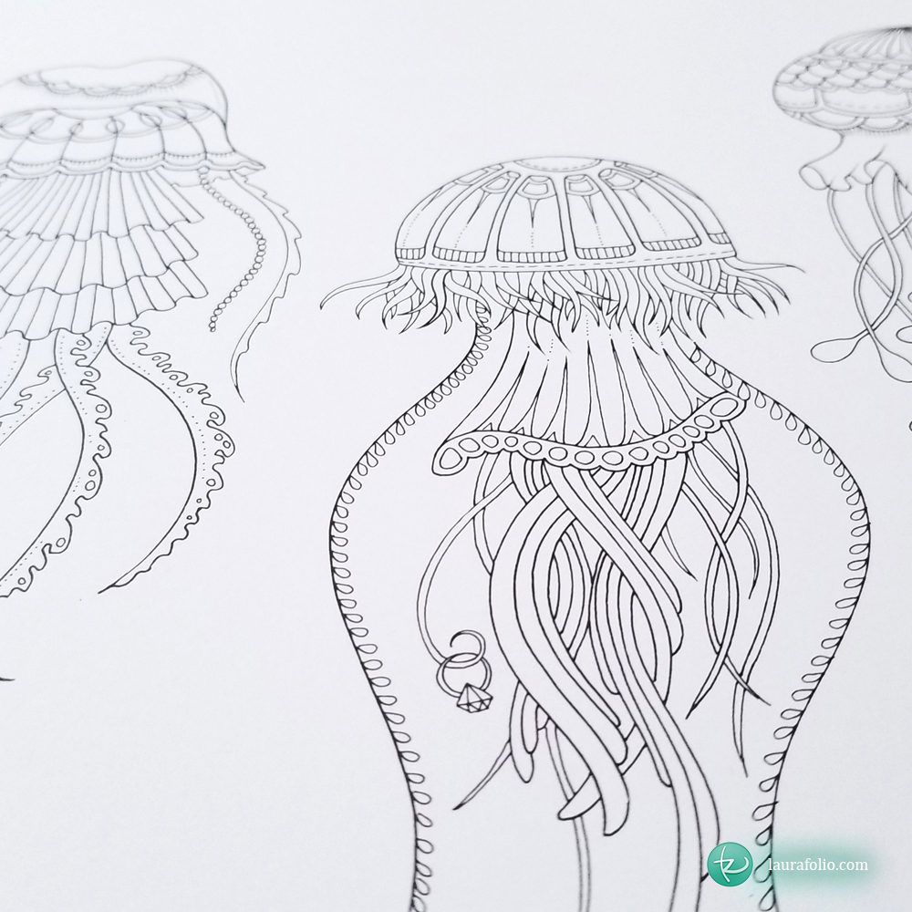 coloring-001-jellyfish-johanna-basford-adult-coloring-book