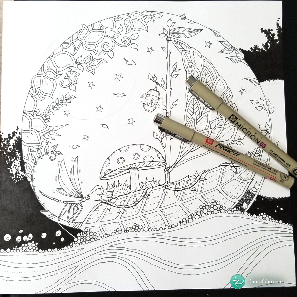 The Artist Who Made Coloring Books Cool for Adults Returns With a ... | 1000x1000