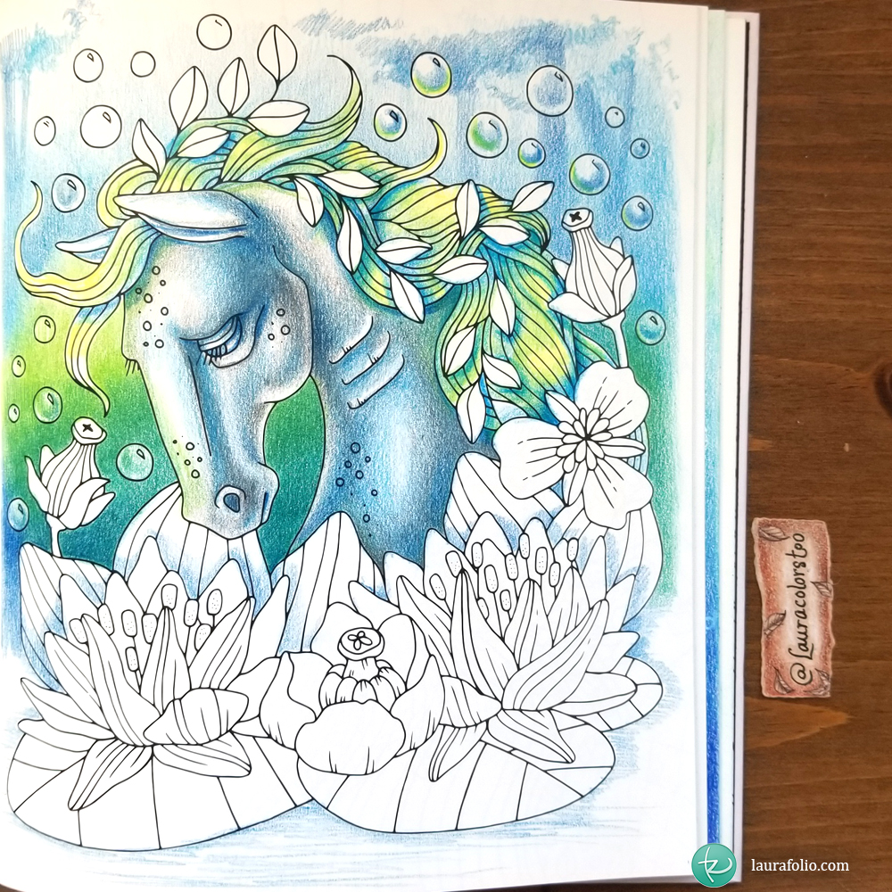 Colored Pages in 2017 - laurafolio