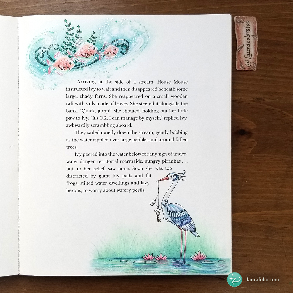 Ivy and the Inky Butterfly - Fish and Pelican Vignettes