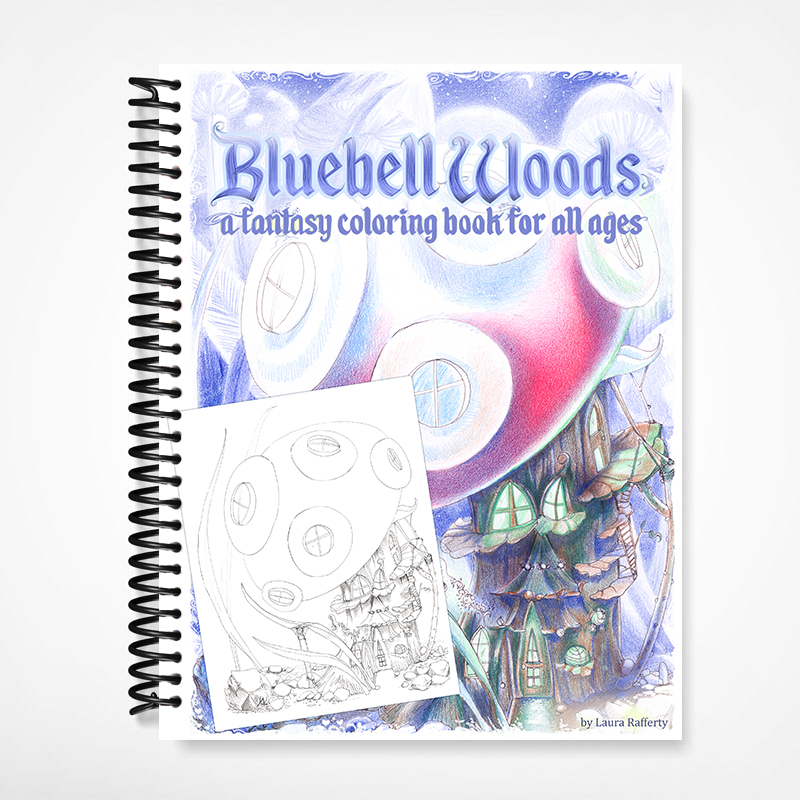 Bluebell Woods Coloring Book
