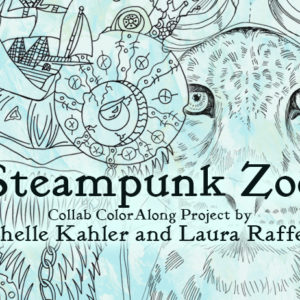 Steampunk Zoo Color Along Event