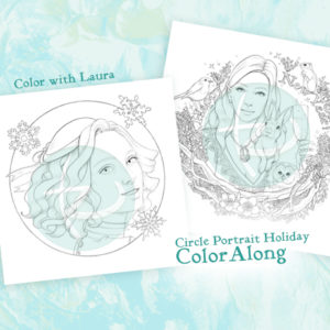 Holidays 2018 Freebies and Color Along!