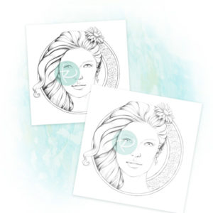Daisy Adult Coloring Page - Inspired by Grazia Salvo