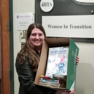 Donating Books to Women in Transition in Philadelphia, PA