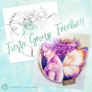 Fiesta Freebie! Birthday Gift from Laura Rafferty
