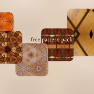 Free Adobe CC Patterns Pack 02 – Wood + Glass