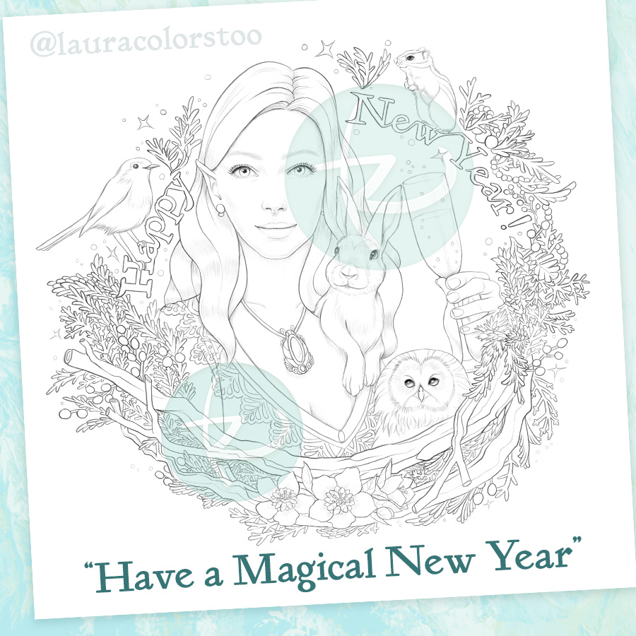Magical New Year Freebie Preview
