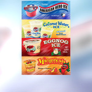 Water Ice Web Banners