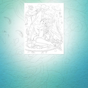 Verdita the Flower Fairy Limited Time Free Download Coloring Page