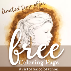 Victorian Color-a-Thon Freebie